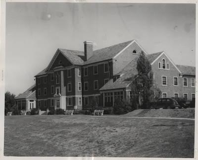 Bennett Hall, 1947 View