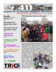 411 Newsletter Spring 2015 Issue 2 by Career and Academic Support Service