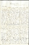 Richard Baxter Foster Letter to his wife June 4 1865 by Richard Baxter Foster
