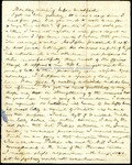 Richard Baxter Foster Letter to his wife (October 4, 1865?) by Richard Baxter Foster