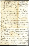 Richard Baxter Foster Letter to his wife March 7 1863
