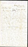 Richard Baxter Foster Letter to his wife May 28 1864 by Richard Baxter Foster