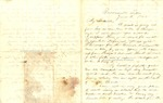 Richard Baxter Foster Letter to his wife June 2 1865