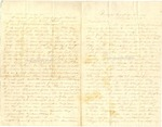 Richard Baxter Foster Letter to his wife March 8 1865 by Richard Baxter Foster