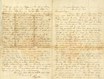 Richard Baxter Foster Letter to his wife March 30, 1865 by Richard Baxter Foster