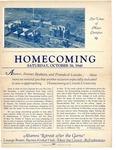 1940 Lincoln University Homecoming Brochure by Lincoln University, Jefferson City Missouri