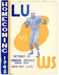 1948 Lincoln University Homecoming Brochure