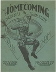 1947 Lincoln University Homecoming Brochure by Lincoln University, Jefferson City Missouri