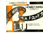 1957 Lincoln University Homecoming Brochure
