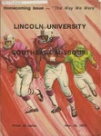 1975 Lincoln University Homecoming Brochure