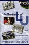 2006 Lincoln University Homecoming Brochure by Lincoln University, Jefferson City Missouri