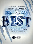 2013 Lincoln University Homecoming Brochure