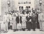 2.2 Lincoln University History Club, 1934-35, Lloyd Gaines is in the back row, third from left
