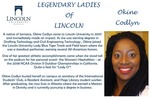 Legendary Ladies of Lincoln: Okine Codlyn by Mark Schleer and Ithaca Bryant