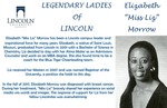 "Legendary Ladies of Lincoln: Elizabeth ""Miss Liz"" Morrow by Mark Schleer and Ithaca Bryant"