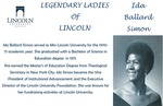 Legendary Ladies of Lincoln: Ida Ballard Simon by Mark Schleer and Ithaca Bryant