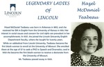 Legendary Ladies of Lincoln: Hazel McDaniel Teabeau