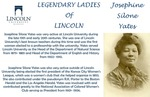 Legendary Ladies of Lincoln: Josephine Silone Yates by Mark Schleer and Ithaca Bryant