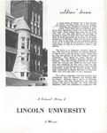 Soldiers' dream : a centennial history of Lincoln University of Missouri by Albert P. Marshall