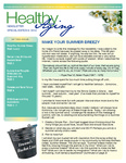 Healthy Aging Newsletter 2014 Special Edition by Paula J. Carter Center on Minority Health and Aging, Lincoln University Cooperative Extension