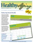 Healthy Aging Newsletter Summer 2015 by Paula J. Carter Center on Minority Health and Aging, Lincoln University Cooperative Extension