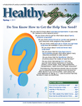 Healthy Aging Newsletter Spring 2017 by Paula J. Carter Center on Minority Health and Aging, Lincoln University Cooperative Extension