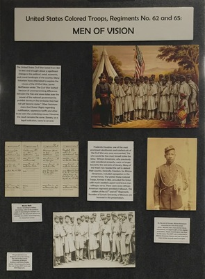 Exhibit: Men of Vision: United States Colored Troops, Regiments No. 62 and 65