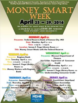 Money Smart Week April 25-29, 2016